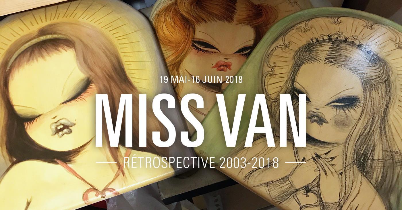 Miss Van Exposition Galerie Openspace