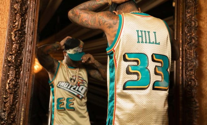 Mitchell and Ness Swingman Gold Pack