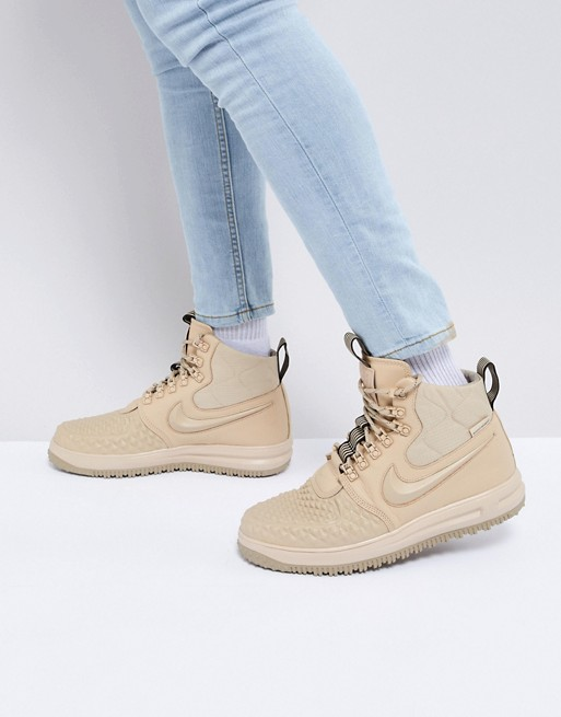 Nike - Lunar Force 1 Duckboot '17 - Baskets - Beige 916682-201