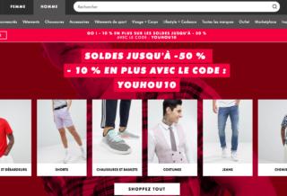 Soldes ASOS : Sneakers et Baskets jusqu'à -50% + Code Promo
