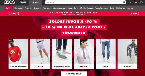 Soldes Asos Basket Sneakers 2018