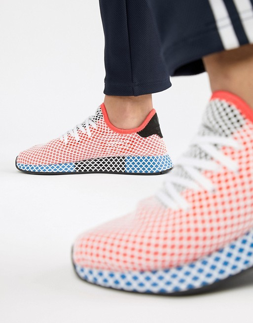 adidas Originals - Deerupt - Baskets de course - Rouge CQ2624