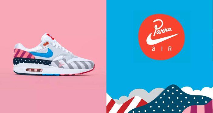 """Parra X Nike Air Max 1 """"2018"""""""