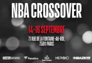 L'exposition NBA CROSSOVER revient à Paris du 14 au 16 septembre 2018