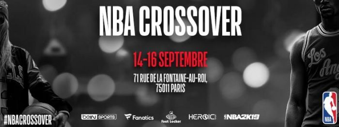 NBA CROSSOVER Paris 2018