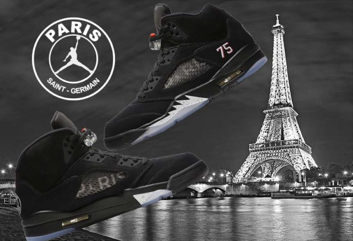 Air Jordan 5 X Paris Saint-Germain