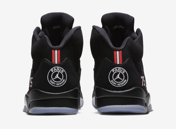 Nike Air Jordan 5 PSG Paris Saint-Germain jumpman collaboration