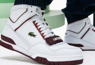 Lacoste dévoile une nouvelle sneaker, la Missouri M85