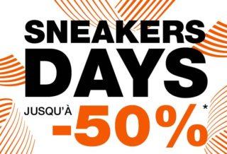 Courir Sneakers Days : Jusqu'à -50% sur une sélection de Sneakers