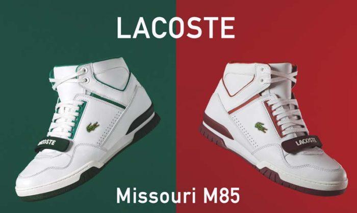 Nouvelle sneaker Lacoste Missouri M85