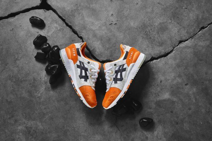 Afew x BEAMS x Asics Tiger Gel Lyte 3 Orange Koi
