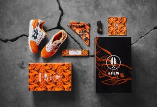 "Afew x BEAMS x Asics Tiger Gel Lyte III ""Orange Koi"""