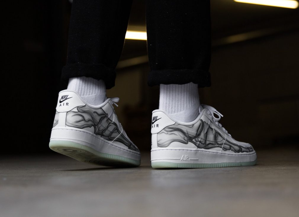 Art Pour Une Skeleton Nike HalloweenSneak Basket Force Air 1 Low CBrdxoe
