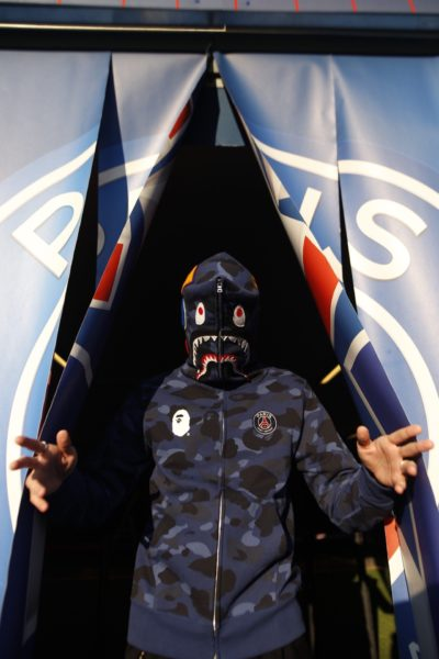 BAPE X PSG Collection Capsule