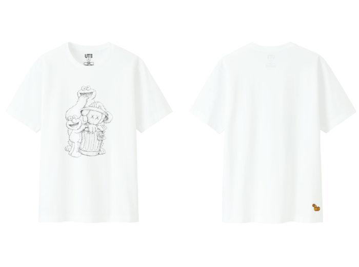 T-Shirt KAWS X SESAME STREET X UNIQLO
