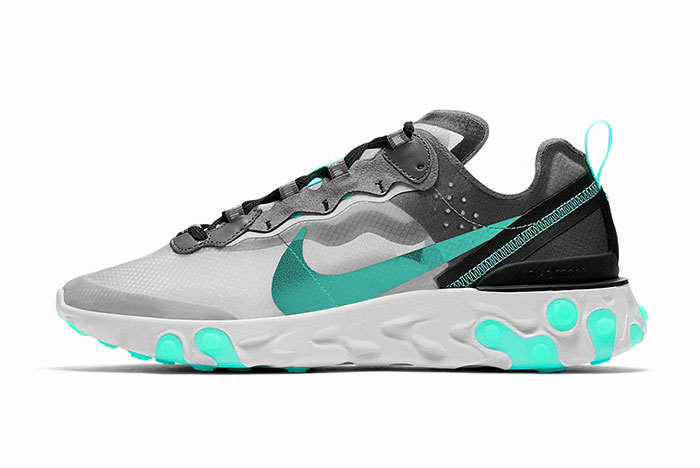 Sneakers NIke React Element 87 Dusty Cactus