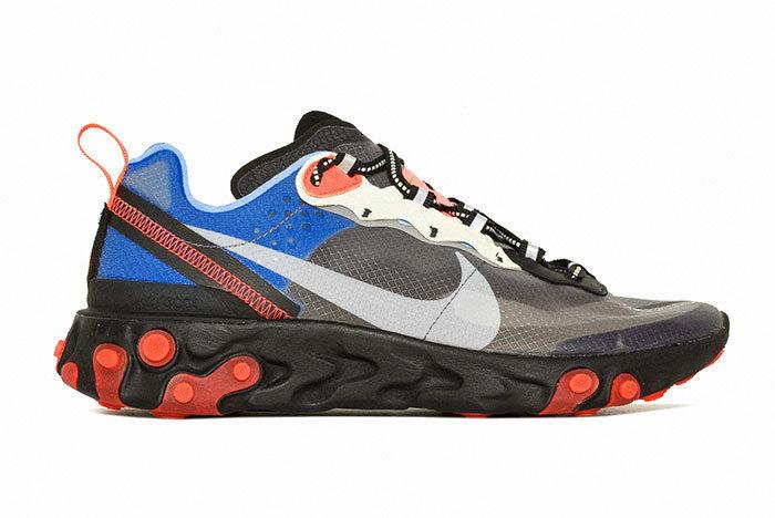 Sneakers NIke React Element 87 Gundam