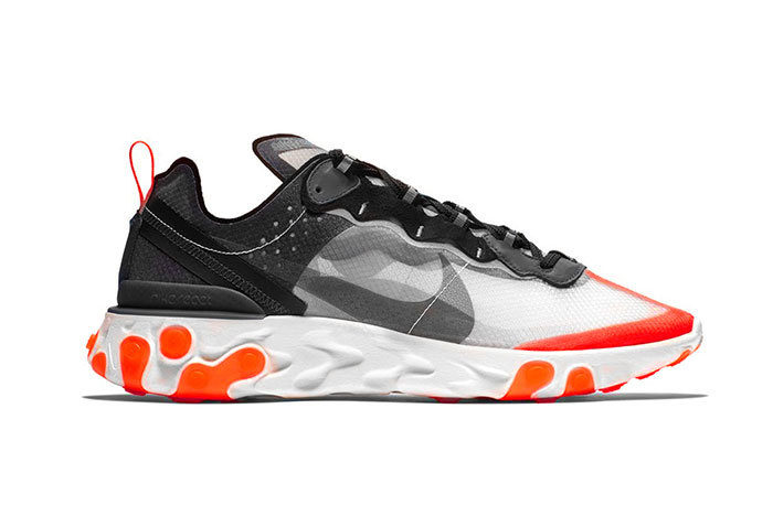 Sneakers NIke React Element 87 Infrared
