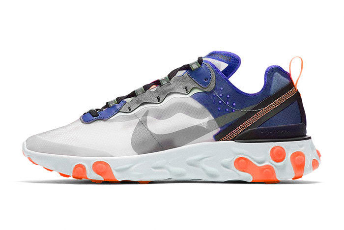 Sneakers Nike React Element 87 UltraMarine