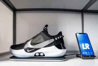 Nike Adapt BB, la chaussure avec laçage automatique pour le basket