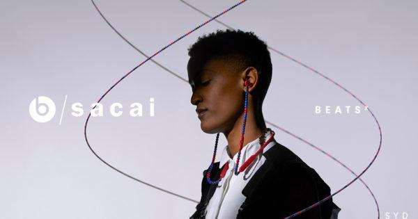 Beats by Dre et SACAI devoilent des ecouteurs avec un design perle