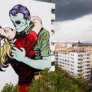 DFace Fresque Mur Street Art Paris 13
