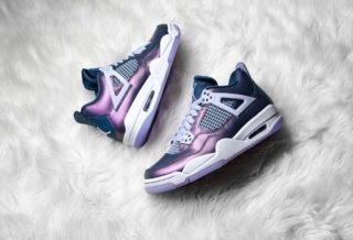 Basket Air Jordan 4 Monsoon Blue