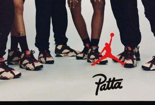 Patta x Air Jordan 7