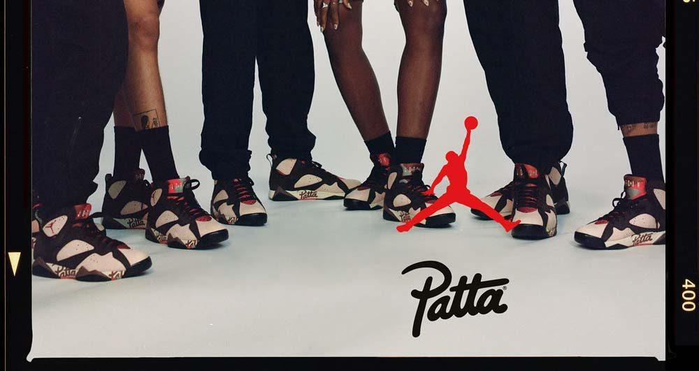 Patta X Air Jordan 7 un nouveau coloris inédit | Sneak art
