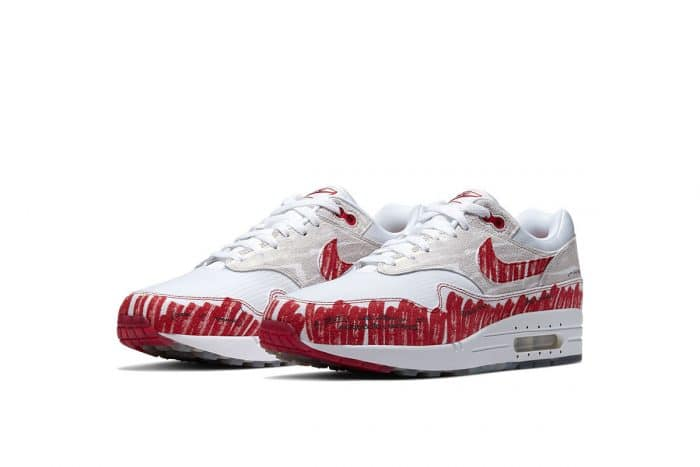 Air Max 1 Sketch to Shelf University Red CJ4286-101