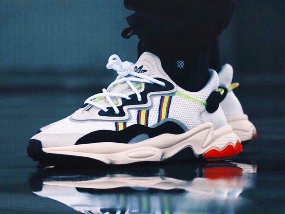 adidas Originals dévoile la chaussure OZWEEGO   Sneak art