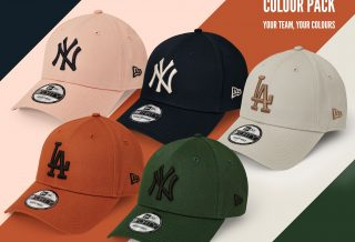 "New Era dévoile sa nouvelle collection de casquette ""COLOUR PACK"""