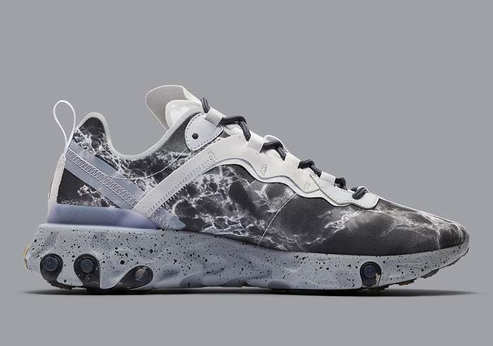 Sneakers Nike React Element 55 X Kendrick Lamar