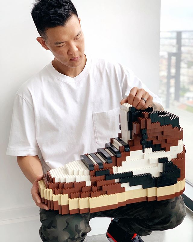 Les Sneakers en LEGO de Tom Yoo | Sneak-art