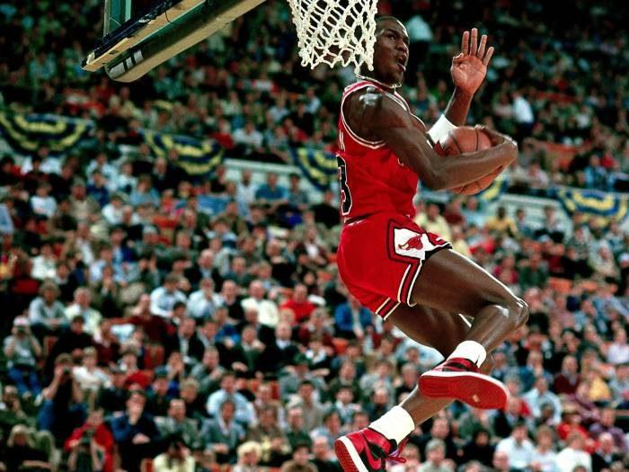 Michael Jordan - Basket Air Jordan 1