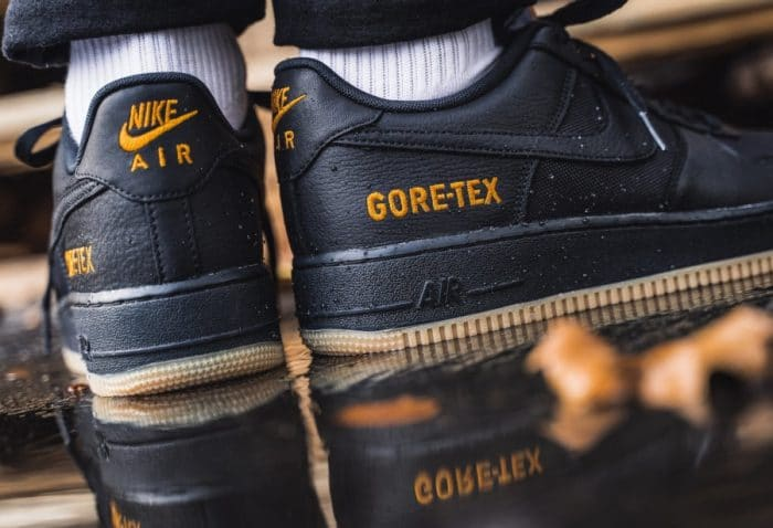 Nike Air Force 1 Gore-Tex Black Gum