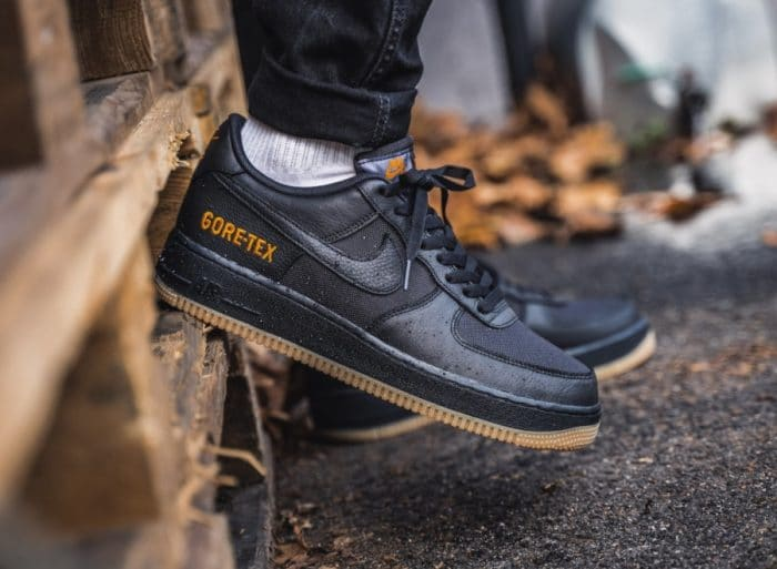 "Nike Air Force 1 ""Gore-Tex"" Black Gum"