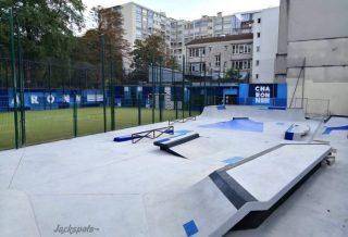 Adidas a rénové le Skatepark de Charonne à Paris 11
