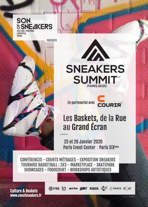 Sneakers summit Paris 2020