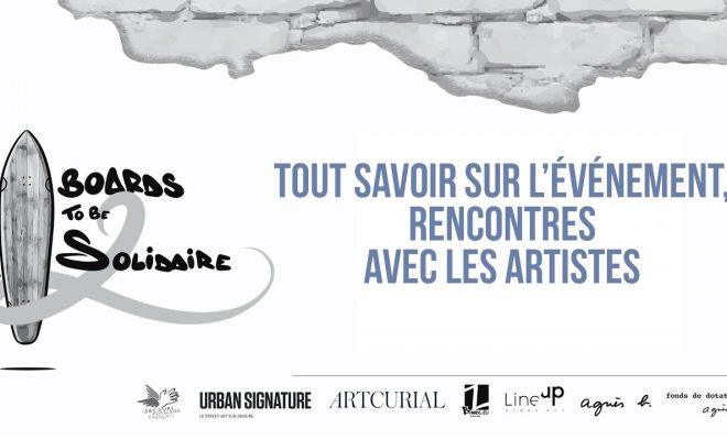 Vente Art Urbain Boards to be Solidaire - Street Art Secours Populaire