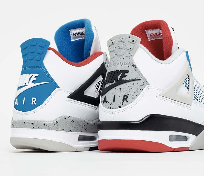 "Air Jordan 4 ""What The"" - CI1184-146"