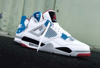 "Basket Air Jordan 4 ""Wath the"""