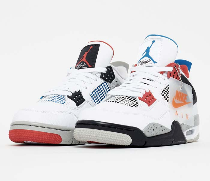 "Basket Air Jordan 4 ""what The"""