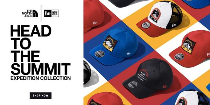 Collection New Era X The North Face