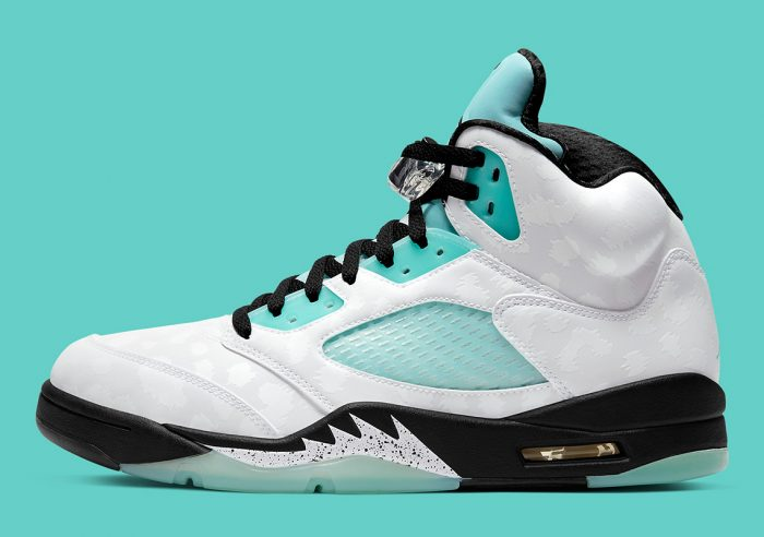 Nike Air Jordan 5 Island Green