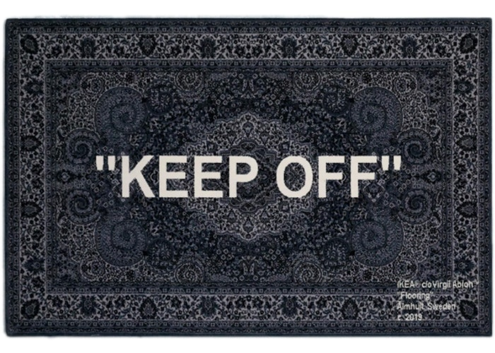OFF-WHITE-Ikea-Keep-Off-Rug-200x300-Black-White