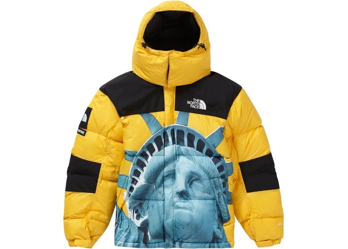Supreme-The-North-Face-Statue-of-Liberty-Baltoro-Jacket-Yellow