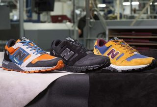 New Balance présente la 575 issue de la collection Made In UK