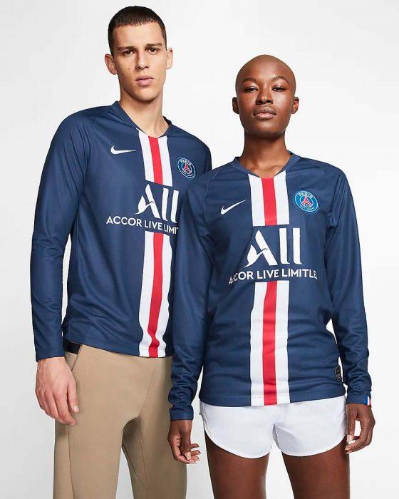Maillot-de-football-à-manches-longues-pour-Homme-Paris-Saint-Germain-2019-20-Stadium-Home