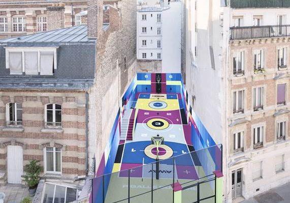 Nouveau terrain Basket Pigalle 2020